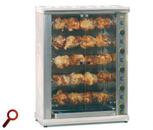 Roller Grill RBE200Q Five Spit Large Electric Rotisserie Rotisseries